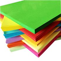 国产 彩色卡纸 A4 160g (红色) 100张/包
