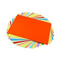 元浩 yuanhao 彩色卡纸 A4 180g (黄色) 100张/包