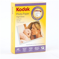 柯达 Kodak 高级光面照片纸 4R 230g 100张/包