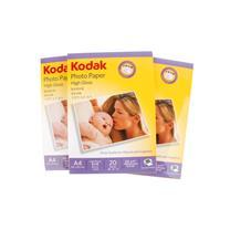 柯达 Kodak CAT5740-322 高光照片纸 A4 230g 20张/包 (仅限安徽蚌埠)