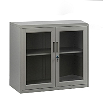 国产铁皮玻璃柜 100*45*500