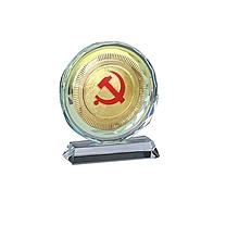 国产 定制水晶奖牌 含金属片 规格:150*130*40mm(DZ) YF-050**85 国网专用