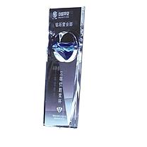 国产 定制水晶柱状奖杯 规格:200*80*10/45mm(DZ) YF-108**90 国网链接
