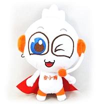国产定制 毛绒公仔布偶定做企业吉祥物娃娃