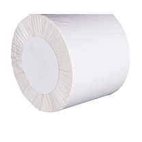 国产双层条码打印纸5040(50mm*40mm)*1500张/卷 上宽下窄5:3 白色