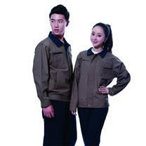 国产 定制工作服 JYT8802 (军绿色) 棉毛酵洗帆布 (下单前请与客服沟通您的定制信息)
