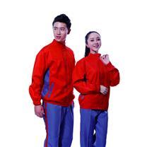 国产 定制工作服 JYT8857 (橙蓝相间) 丝印/热转印/刺绣(下单前请与客服沟通您的定制信息)
