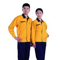 国产 定制工作服 JYT8802-2 (黄色) 棉毛酵洗帆布 丝印/热转印/刺绣(下单前请与客服沟通您的定制信息)