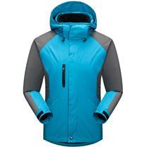 国产 定制冲锋衣 1325 (湖蓝色) (下单前请与客服沟通您的定制信息)