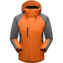 国产 定制冲锋衣 1325 (桔黄色) (下单前请与客服沟通您的定制信息)
