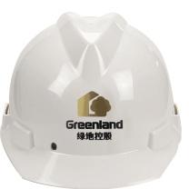 国产 定制安全帽国产ABS 2色印刷含编码(DZ) 绿地链接(50顶起订)