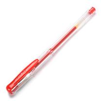 三菱 uni 双珠啫喱笔 UM-100-05 0.5mm (红色) 10支/盒 (替芯:UMR-5)