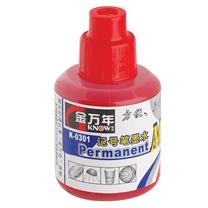 金万年 GENVANA 记号笔墨水 K-0301 20ml/瓶 (红色) 24瓶/盒