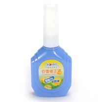 白雪 Snowhite 修正液 X-18 18ml/瓶 (红色、蓝色、粉色) 12瓶/盒 (颜色随机)