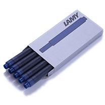 凌美 LAMY 钢笔墨囊 T10 (墨蓝色) 5支/盒