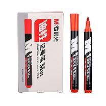 晨光 M&G 油性记号笔 APMY2204 2.0mm (红色) 10支/盒