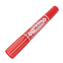 斑马 ZEBRA 大麦奇双头记号笔 MO-150 粗头6.0mm,细头1.5-2.0mm (红色) 10支/盒