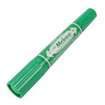 斑马 ZEBRA 大麦奇双头记号笔 MO-150 粗头6.0mm,细头1.5-2.0mm (绿色) 10支/盒