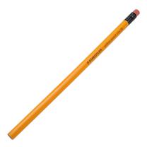 施德楼 STAEDTLER 带橡皮头黄色木杆2B铅笔 134 12支/盒