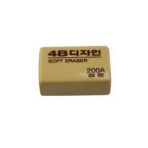 南韩 橡皮 4B/200A 38*25*15mm 30块/盒