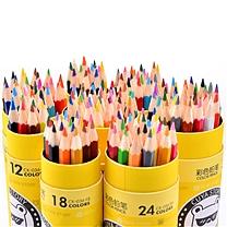 真彩 TRUECOLOR 彩色铅笔 18色 18支/盒