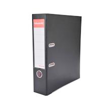 易达 Esselte 半包胶档案夹 27107P A4 3寸 (黑色) 20个/箱