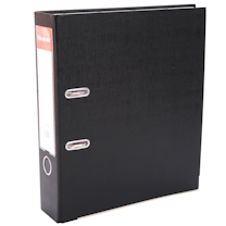 易达 Esselte 经济型半包胶档案夹 28137/28137E A4 3寸 (黑色)
