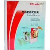 易达 Esselte 加插封面文件夹 505430/505430D A4 3寸3孔 (白色) 10个/箱