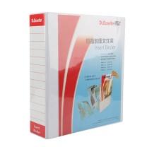 易达 Esselte 加插封面文件夹 505440/505440D A4 3寸4孔 (白色) 10个/箱