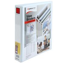 齐心 Comix 加插封面文件夹 A215 A4 2寸2孔 (白色)