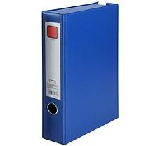 齐心 Comix 办公必备磁扣式PVC档案盒 A1297 A4 68mm (蓝色)