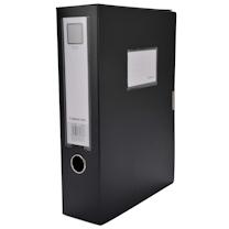 齐心 Comix 标准型文件盒 HC-75 A4 75mm (黑色)