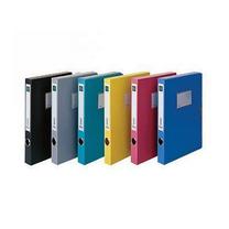 得力 deli 粘扣档案盒 5602 A4 35mm (蓝色) 12个/箱