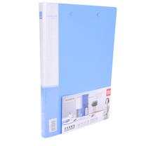 得力 deli 双强力夹 5302 A4 背宽18mm (蓝色) 120个/箱