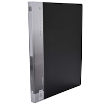 金得利 KINARY 基本色单强力夹 AB620A A4 背宽21mm (黑色) 20个/箱