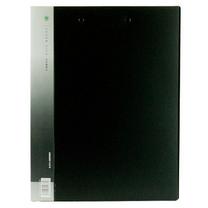 金得利 KINARY 基本色长押夹加板夹 ALH620 A4 背宽21mm (黑色) 20个/箱
