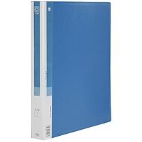 金得利 KINARY 1寸2孔O型文件夹加插袋 TC532A A4 背宽36mm (蓝色) 10个/箱