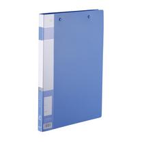 金得利 KINARY 优系列双弹簧夹 AF607 A4 背宽21mm (蓝色) 120个/箱