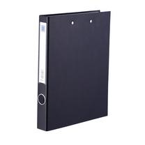 金得利 KINARY PVC长押夹加板夹 DCL10115W A4 背宽43mm (黑色) 60个/箱