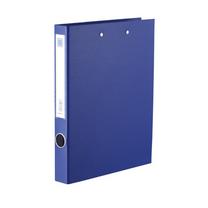 金得利 KINARY PVC封面高级纸板夹 长强力夹+板夹 背宽43mm DCL10115W (蓝色) 60个/箱