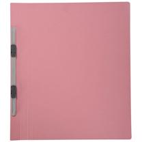 普乐士 PLUS 纸质双孔夹 C78-038 A4 背宽20mm (粉红) 10个/包