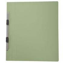 普乐士 PLUS 纸质双孔夹 C78-036 A4 背宽20mm (淡绿) 10个/包
