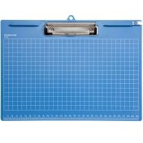 齐心 Comix 横式写字板夹 A725 A4 (蓝色、黑色、灰色) (颜色随机)