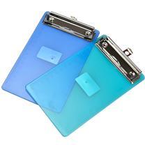 树德 Shuter 票据式写字板夹 A67 180*110mm (蓝色、橙色、白色、绿色) (颜色随机)