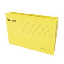 易达 Esselte 便达飞吊式挂快劳 393125 A4 (黄色) 25片/包