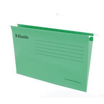 易达 Esselte 便达飞吊式挂快劳 393111 FC (绿色) 25片/包