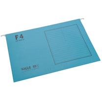 益而高 Eagle 挂快劳文件夹 9351F F4 (蓝色) 40片/盒