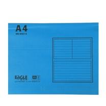 益而高 Eagle 挂快劳文件夹 9351A A4 (兰色) 40片/盒