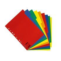 易达 Esselte 五色5级纸质分类索引 56102/100199 (彩色) 5页/ 套