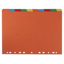 益而高 Eagle 纸质数字1-10分类纸 1201 (彩色) 10页/套